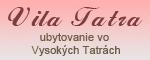 www.vilatatra.sk, ubytovanie vo Vysokých Tatrách